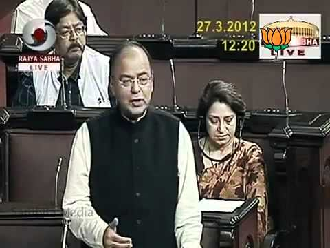 Speech in Rajya Sabha on A. K. Antony: Sh. Arun Jaitley: 27.03.2012