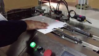 YCK-2A A4 PVC plastic card hydraulic die punch machine