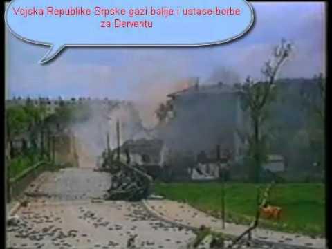 Srpske borbe - VRS oslobadja okupirane Srpske teritorije Derventa