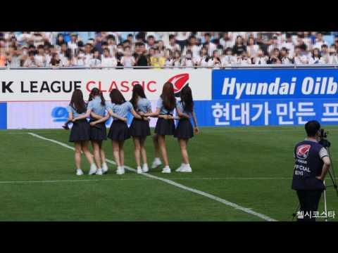 [4K] 160611 울산현대 하프타임 축하공연 여자친구(GFRIEND) 직캠
