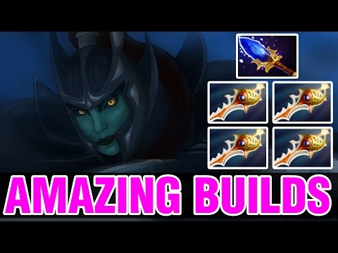 4 DIVINES AND AGHANIM TO PHANTOM ASSASSIN !! - Amazing Builds Vol 153 - Dota 2