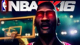 NBA 2K16 HOT Animated Trailer ft. Michael Jordan, Steph Curry & More