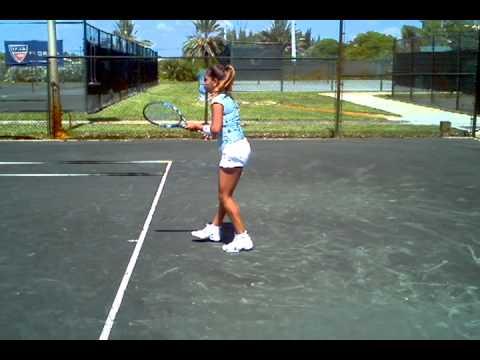 Scott Paschal テニス: 全米オープン Jr 決勝戦(ファイナル) ist Training w International Christian テニス Association