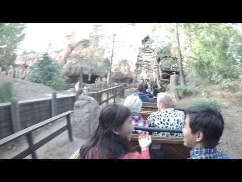 [4K] Big Thunder Mountain Railroad : 2014 POV GoPro Hero 4   Disneyland Resort, California