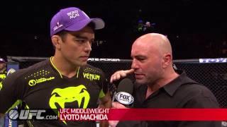 UFC Manchester: Lyoto Machida Post-Fight Interview