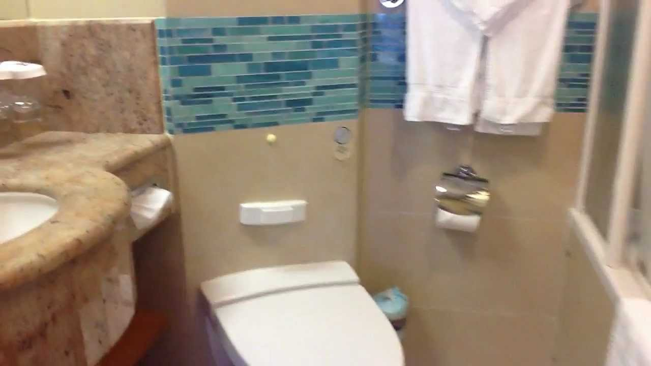 Royal Caribbean Aquatheater Suite With Balcony Deck 9 Cabin 730 Youtube