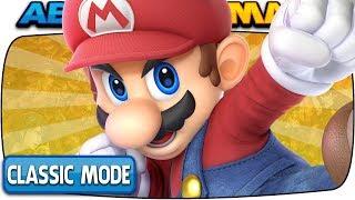 MARIO Classic Mode (Hardest Intensity & No Deaths)   Super Smash Bros Ultimate