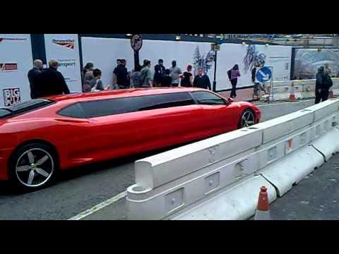Ferrari Limousine in Birmingham
