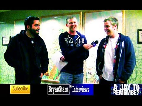 A Day To Remember Interview Jeremy McKinnon 2010 Music Videos