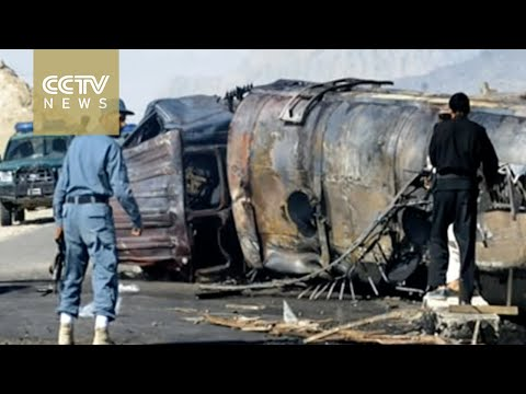 73 reported dead after bus and fuel tanker collision in Afghanistan