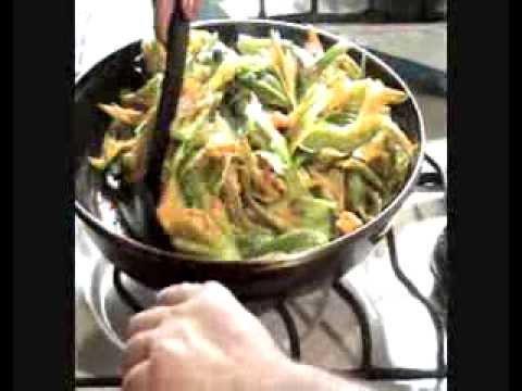 como hacer quesadillas de flor de calabaza