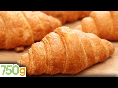 Recette des Croissants maison / Homemade croissants - English subtitles - 750 Grammes