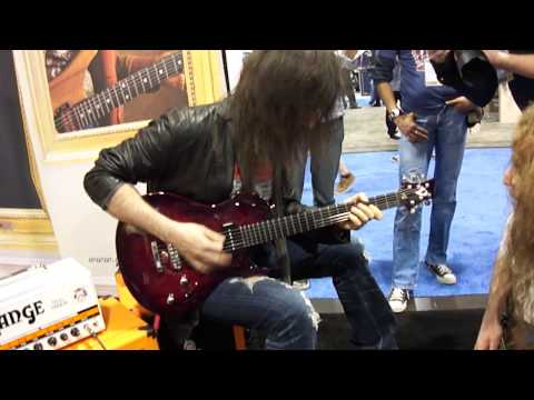 Ron Thal&Guthrie Govan Jamming at the Vigier Booth NAMM 2011
