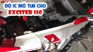 Độ IC (ECU) mở tua cho xe Exciter 150 ▶ Lợi hay Hại, có nên không?