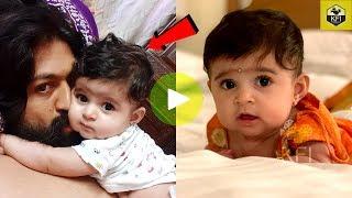 Yash Radhika Pandit Daughter New Photos Collection Video