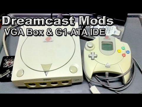 Dreamcast Mods - VGA Box & G1-ATA IDE (juegos desde HDD)
