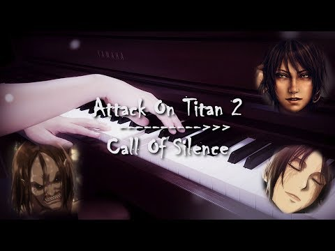 Attack On Titan 2 - Call Of Silence   Piano   Zacky The Pianist