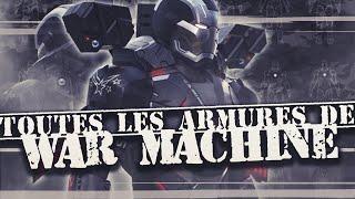 TOUTES les ARMURES de WAR MACHINE