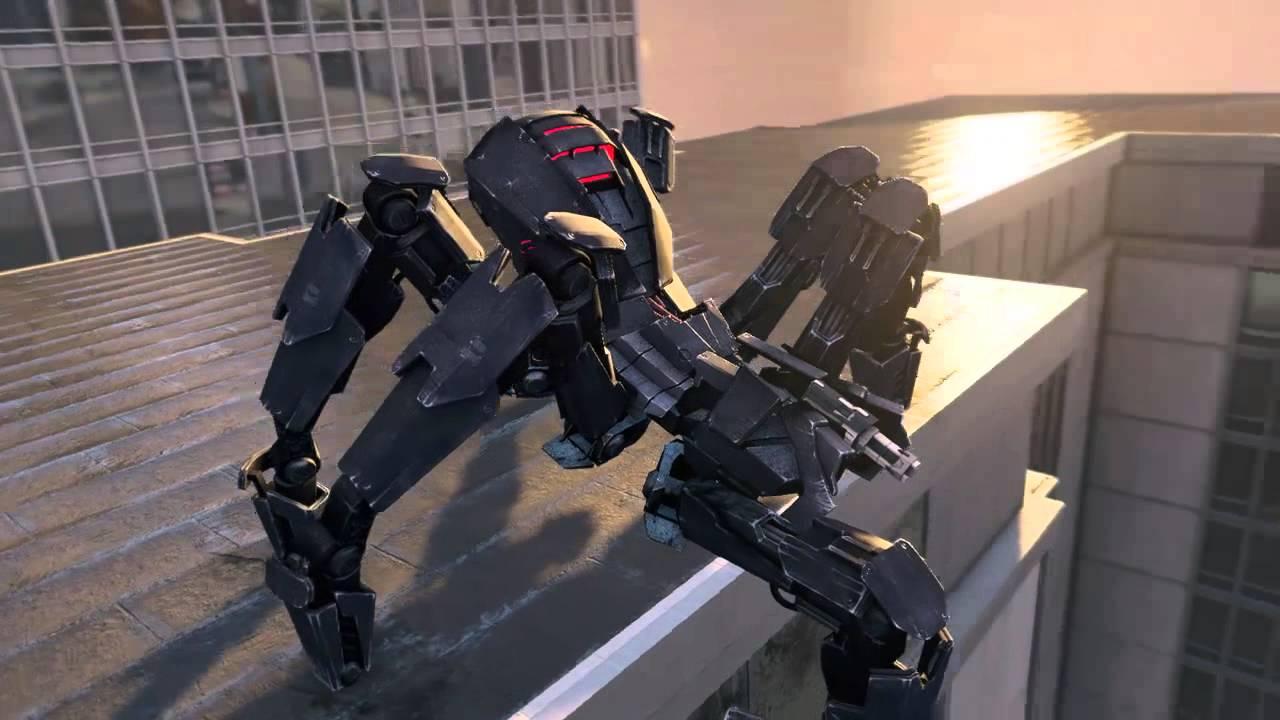 Robot Spider Watch Dogs