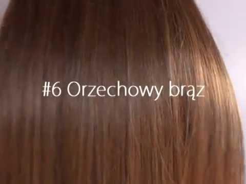 #6 orzechowy brąz prezentacja koloru hairself youtube