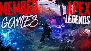 Member/Sponsor Special Games, !join to become a Member - Apex Legends 🔴LIVE