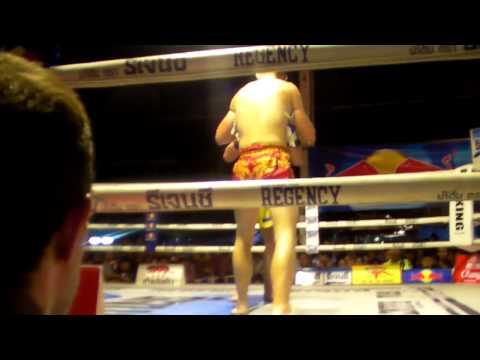 STEPHEN HODGERS vs BRIAN ROBERTSON WPMF QUEENS BIRTHDAY FIGHT SANAM LUANG BANGKOK rd4