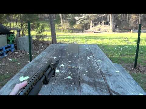 Mossberg 590 With Bayonet Shooting
