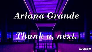 Ariana Grande - Thank u, next   LYRICS   Sub Español/Ingles