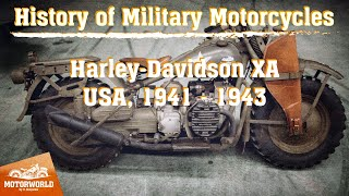 Harley-Davidson XA | 1942, USA. Review & test-drive.
