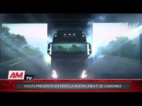 Volvo Presentó en Perú la nueva línea F de camiones