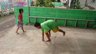 Bermain Engklek Bersama - Permainan Engklek - Permainan Tradisional Jawa - Javanese Traditional Game
