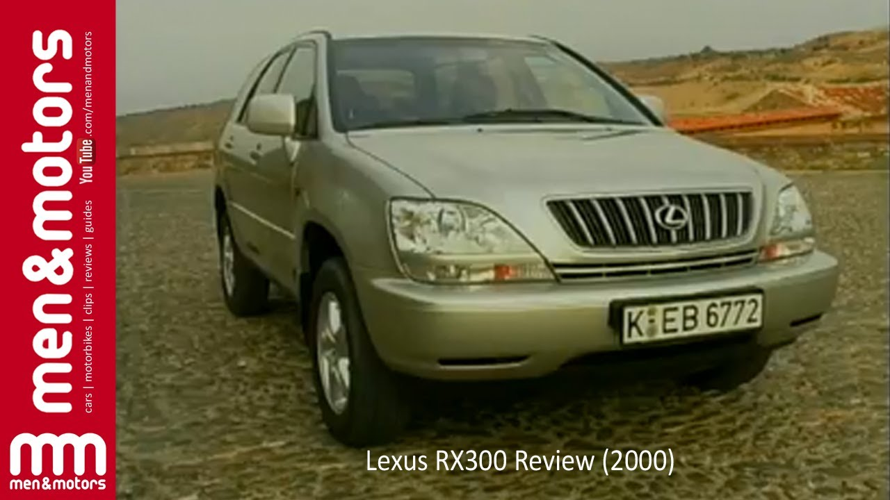 lexus rx300 review 2000 youtube. Black Bedroom Furniture Sets. Home Design Ideas