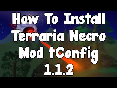 How To Install Terraria Necro Mod tConfig 1.1.2