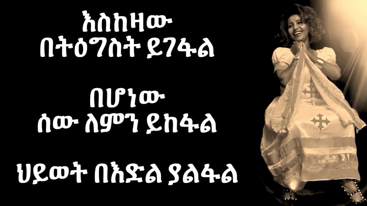 Fikreaddis Nekatibeb - Yemechew ይመቸው (Amharic With Lyrics)