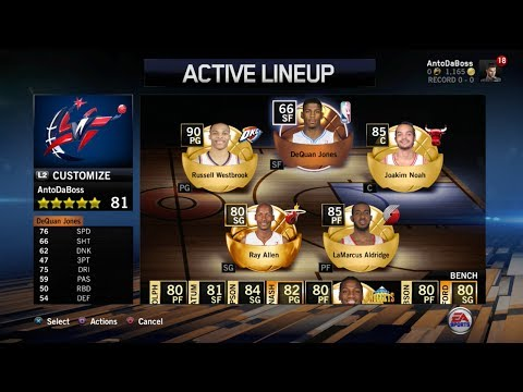 NBA Live 14 Ultimate Team - First Match Online Feat. Pack Openings !!! PS4