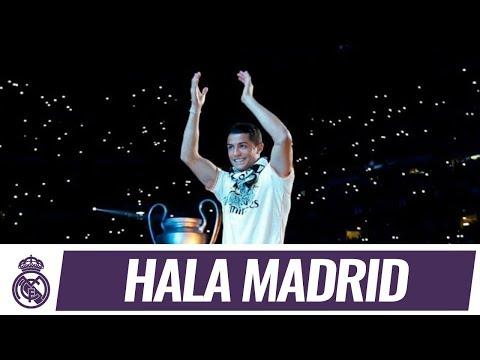 Así fue la presentación de los jugadores en la fiesta del Bernabéu