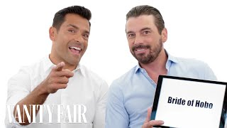Riverdale's Mark Consuelos and Skeet Ulrich Teach You Riverdale Slang | Vanity Fair