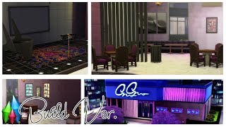 【The Sims 4】[DIY]Lounge Bar #1(download + cc )