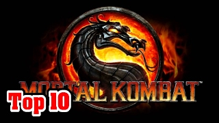 Top 10 MORTAL KOMBAT Facts You DIDN'T KNOW
