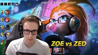 581. Bjergsen - Zoe vs Zed - Mid - November 29th, 2017 - Patch 7 23 - PreSeason 8