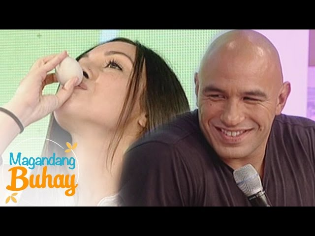 Magandang Buhay: Jessica's first balut experience