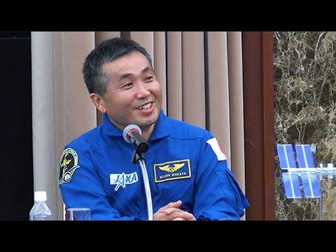 宇宙飛行士・若田さん帰国会見