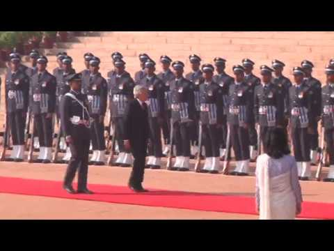 Ceremonial Reception of the Emperor of Japan and Empress of Japan - 02-12-13
