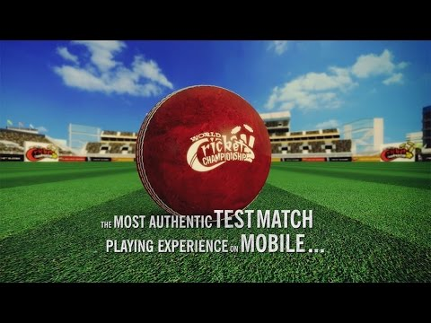 WCC 2 Test Match Launch Promo