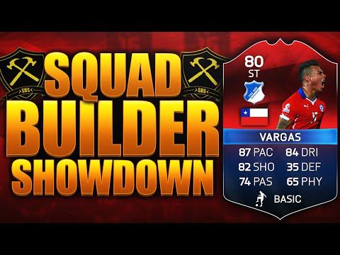 FIFA 16 EPIC iMOTM VARGAS SQUAD BUILDER SHOWDOWN!!! FIFA 16 ULTIMATE TEAM