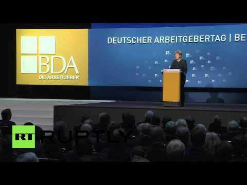 Germany: Merkel says Russia-EU tensions to blame for struggling economy