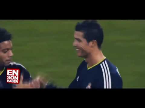 Messi ve Ronaldo'nun attığı frikikler karşılaştırıldı | HD |