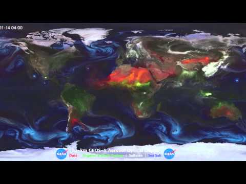 Aerosols: Airborne particles in Earth's atmosphere