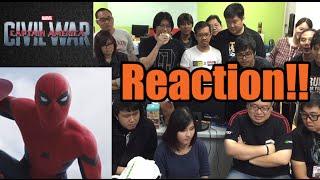 OS REACTION! สดๆร้อนกับ Captain America: Civil War - Trailer 2