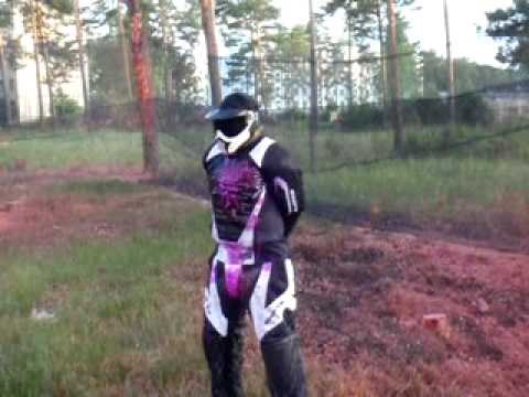 how to make paintball armour